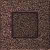 Вентиляционная решетка Kratki 11х11 см медная без жалюзи