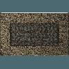 Вентиляционная решетка Kratki 11х17 см черное золото без жалюзи