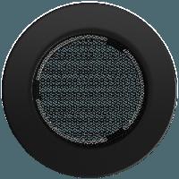 Вентиляционная решетка Kratki FI Ø100 мм Черная, фото 1