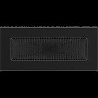 Вентиляционная решетка Kratki 11х24 см черная, фото 1