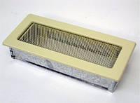 Вентиляційна решітка Kratki 11х24 см бежева, фото 1