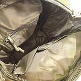 Тактическая городская мужская сумка оливковая, фото 10