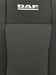 Чехлы на сидения DAF XF105 (1+1) (2005>) в салон (Favorit)