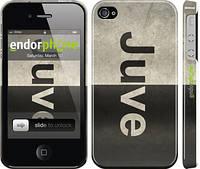 """Чехол на iPhone 4s Ювентус """"2778c-12"""""""