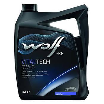 Wolf Oil Vitaltech 5W-40 4л