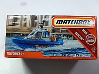 Машинка Matchbox Tinforcer Матчбокс Катер 1:64