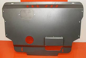 Защита Fiat Ducato (1995-2006) (V-2.8, боков.крылья, двс+кпп) (Щит) Двигателя картера подона