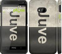 "Чехол на HTC One M7 Ювентус ""2778c-36"""