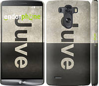 "Чехол на LG G3 dual D856 Ювентус ""2778c-56"""