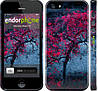 """Чехол на iPhone 5 Дерево с яркими листьями """"2942c-18"""""""