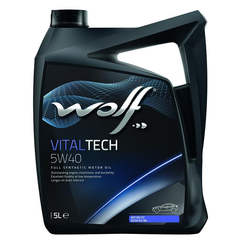 Wolf Oil Vitaltech 5W-40 5л