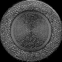 Вентиляційна решітка Kratki FI Ø125 мм Чорне срібло, фото 1