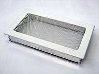 Вентиляційна решітка Kratki 17х30 см біла, фото 1