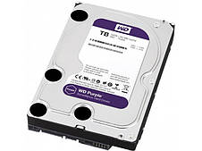 Жесткий диск Western Digital Purple 4TB 64MB 5400rpm WD40PURZ 3.5 SATA III