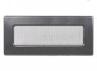 Вентиляційна решітка Kratki 11х32 см графітова, фото 1