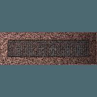 Вентиляційна решітка Kratki 11х32 см мідна без жалюзі, фото 1