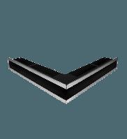 Вентиляційна решітка Hitze SLIM INOX 9х56х56, фото 1