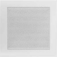 Вентиляционная решетка Kratki 22х22 см белая без жалюзи, фото 1