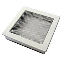 Вентиляционная решетка Kratki 22х22 см белая, фото 1