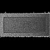 Вентиляционная решетка Kratki 17x37 см черное серебро без жалюзи