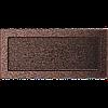 Вентиляционная решетка Kratki 17x37 см медная без жалюзи