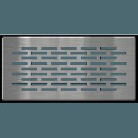 Вентиляционная решетка FLOOR 9х20 см, фото 1
