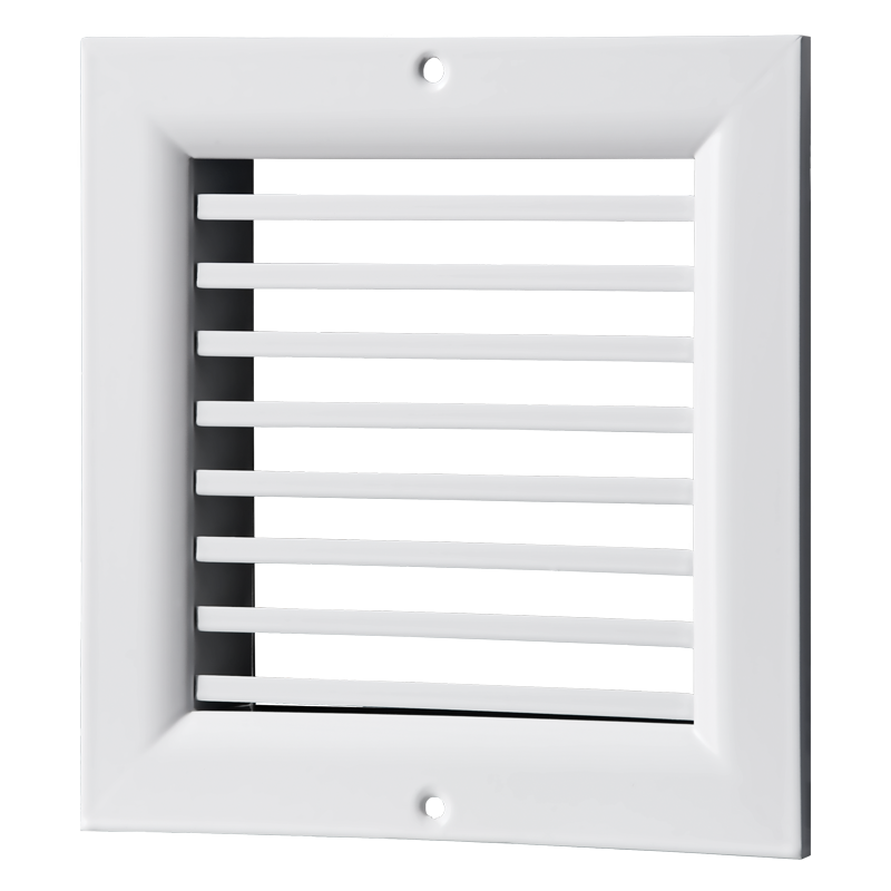 Решетка вентиляционная алюминий ОНГ1 140*140 Вентс белая