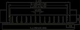 Решетка вентиляционная алюминий ОНГ1 140*140 Вентс белая, фото 4