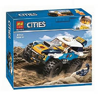 """Конструктор Bela 11217 (Аналог Lego City 60218) """"Участник гонки в пустыне""""81 деталь, фото 1"""