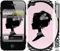 """Чехол на iPhone 4s Принцесса """"1992c-12"""""""
