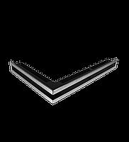 Вентиляционная решетка Hitze SLIM INOX 6х60х40 LEWY, фото 1