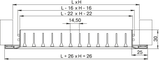 Решетка вентиляционная алюминий ОНГ1 350*100 Вентс белая, фото 4