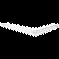 Вентиляционная решетка Люфт SF NL/60/B левая угловая белая, фото 1