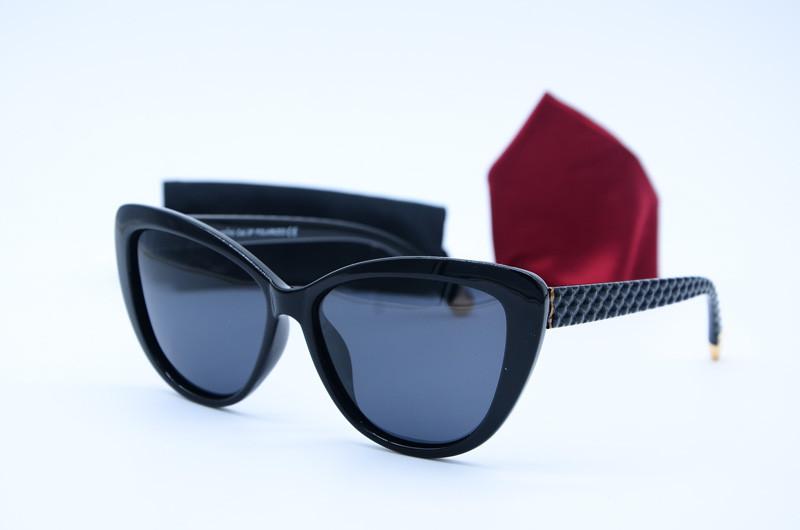 Женские солнцезащитные очки Кошка 3718 с1