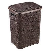 Корзина для белья Ажур Elif 322-5 коричневый #O/Z