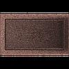 Вентиляционная решетка Kratki 22x37 см медный без жалюзи