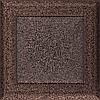 Вентиляционная решетка Kratki Oskar 17x17 см медная без жалюзи