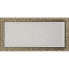 Вентиляційна решітка Kratki 22x45 см чорне золото без жалюзі