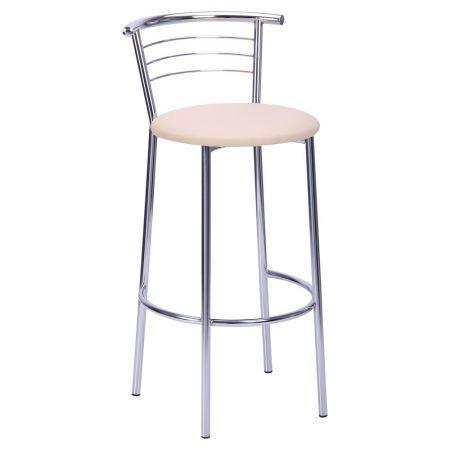 Барный стул Маркос Хокер хром Неаполь  AMF