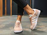 Кроссовки натуральная замша Adidas Gazelle Адидас Газель  (36,37,38,39,40), фото 3