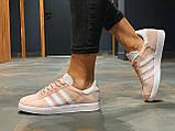 Кроссовки натуральная замша Adidas Gazelle Адидас Газель  (36,37,38,39,40), фото 7