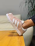 Кроссовки натуральная замша Adidas Gazelle Адидас Газель  (36,37,38,39,40), фото 10