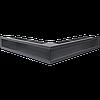 Вентиляционная решетка Люфт SF NS/90/G угловая графитовая
