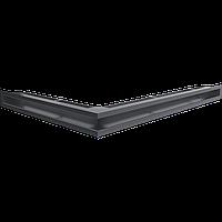 Вентиляционная решетка Kratki Люфт NP/60/G угловая графитовая, фото 1
