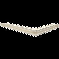 Вентиляционная решетка Kratki Люфт NL/60/K левая угловая бежевая, фото 1