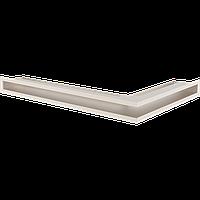 Вентиляционная решетка Kratki Люфт NL/6/40/K левая угловая бежевая, фото 1