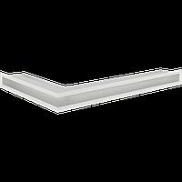 Вентиляционная решетка Kratki Люфт SF NP/6/40/B правая угловая белая, фото 1