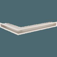 Вентиляционная решетка Люфт SF NP/6/40/K правая угловая бежевая, фото 1