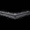 Вентиляционная решетка Kratki Люфт NS/60/G угловая графитовая