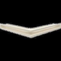 Вентиляционная решетка Люфт SF NS/60/K угловая бежевая, фото 1